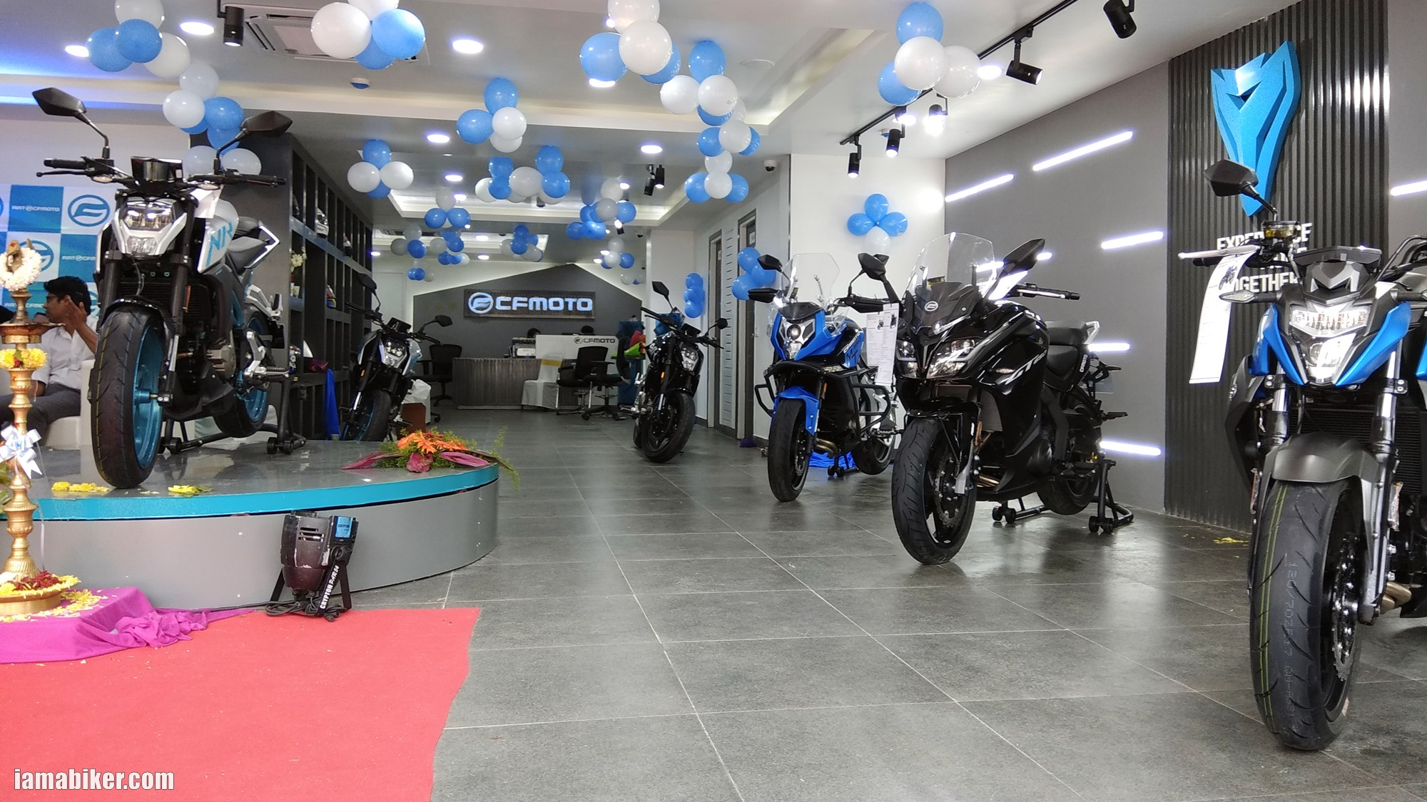 CF Moto Bengaluru dealership
