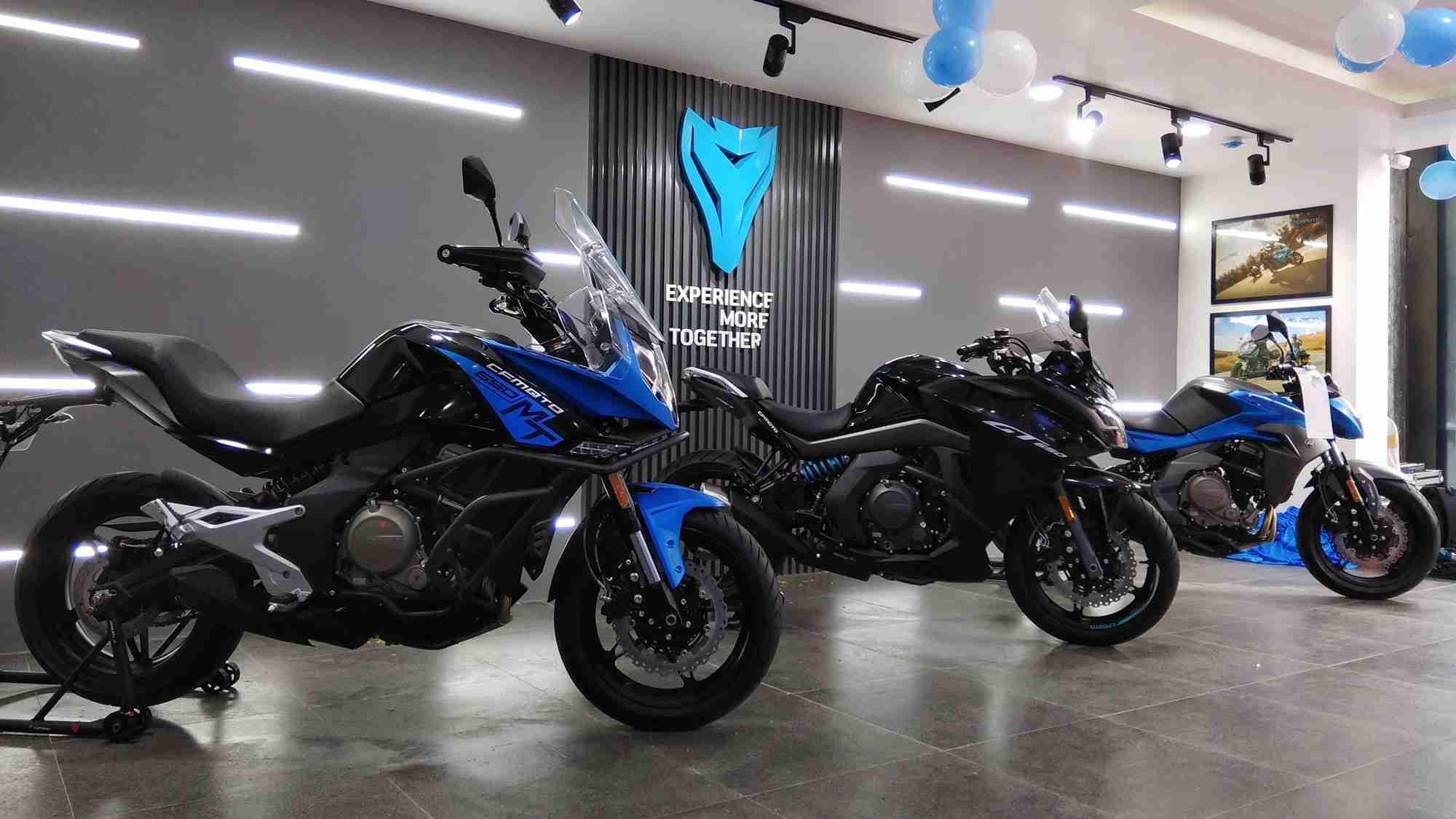 CF Moto Bengaluru dealership