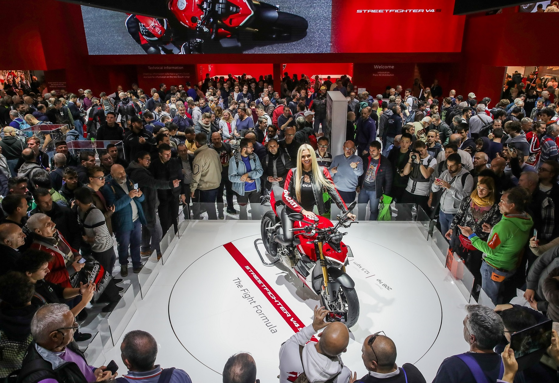Ducati Streetfighter V4 at EICMA 2019