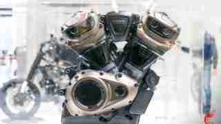 Harley Davidson Revolution Max engine