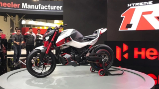 Hero Xtreme 1.R concept at EICMA 2019