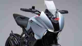 Honda CB4X concept headlight