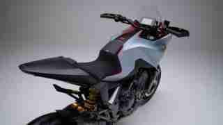 Honda CB4X concept seat