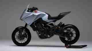 Honda CB4X concept side view