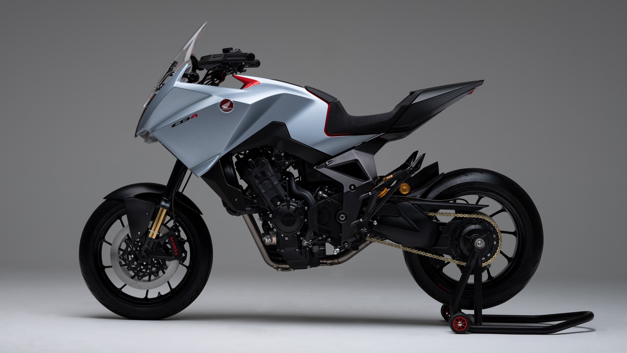 Honda CB4X concept side view