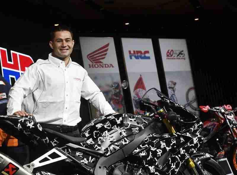 Leon Haslam Honda WSBK team