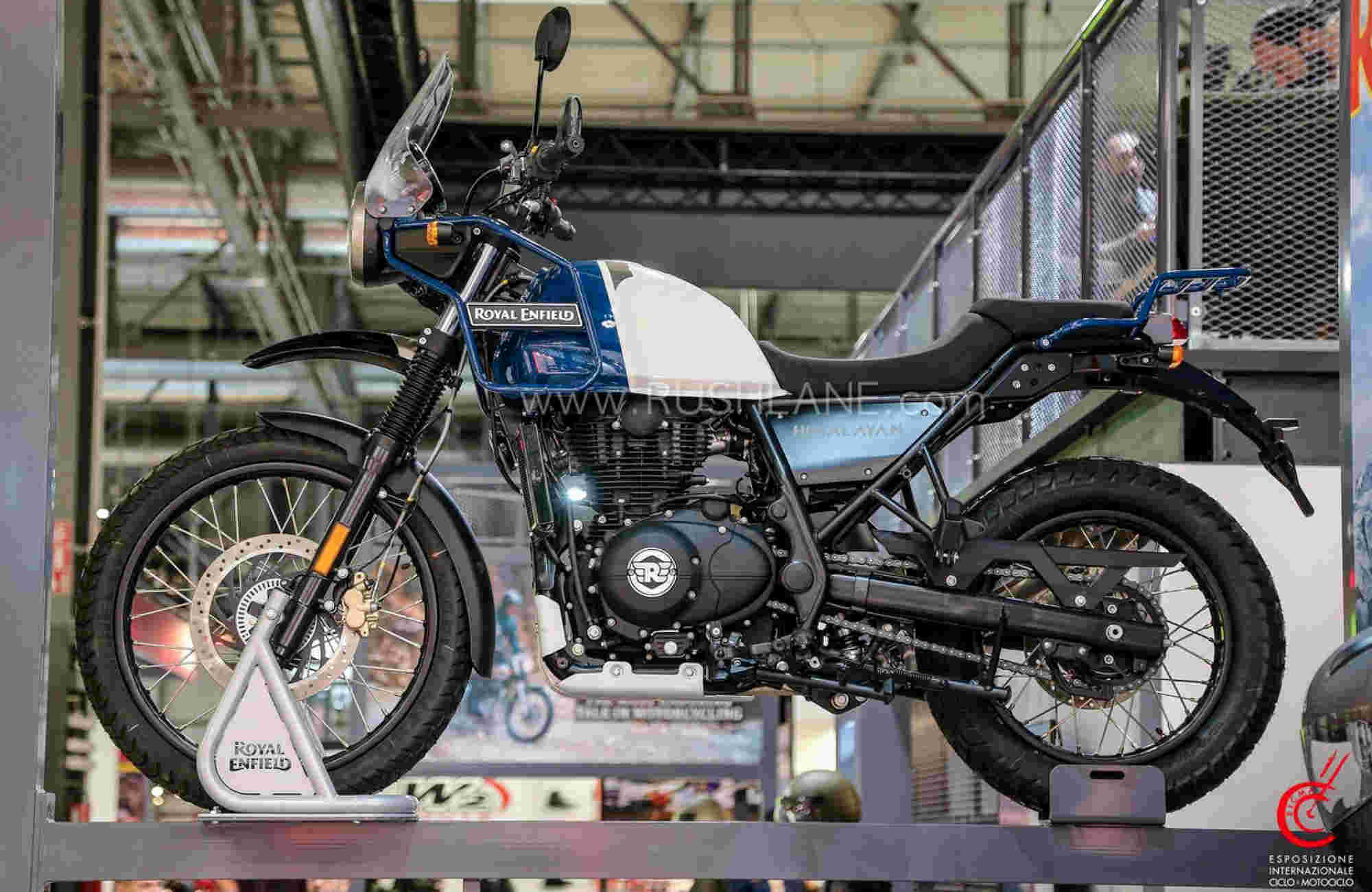 Royal Enfield Himalayan Lake Blue