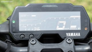 Yamaha MT-15 digital meter