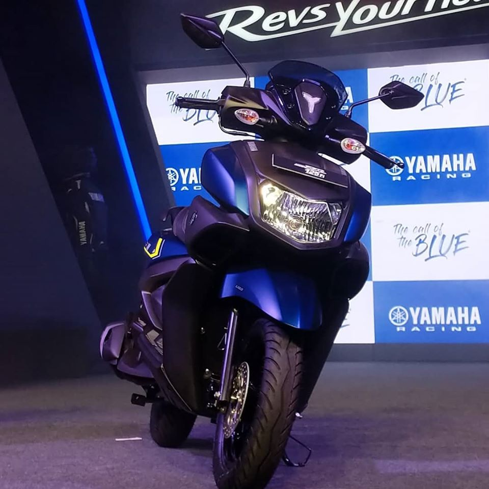 2020 BS 6 Yamaha Ray ZR