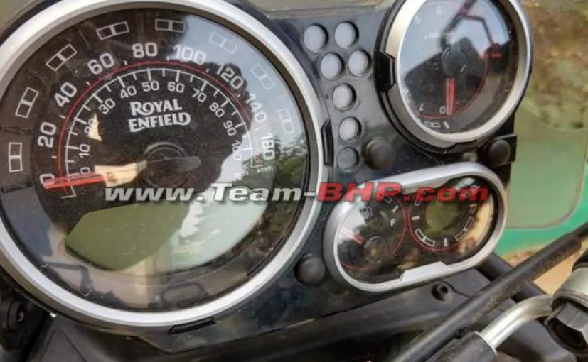 2020 Royal Enfield Himalayan spy shot