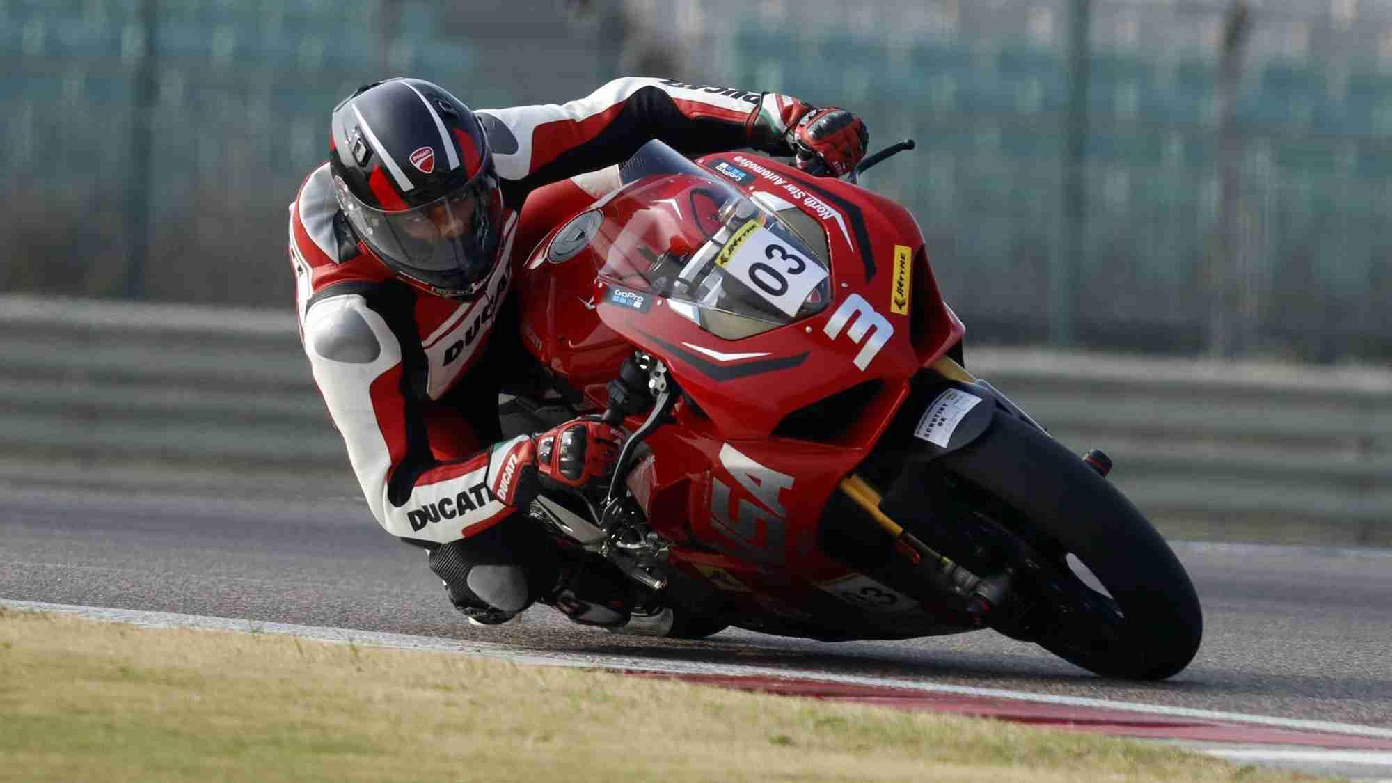 Bhumik Lalwani - Ducati NSA on Ducati Panigale V4 S