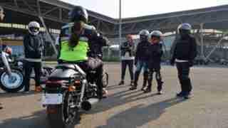Harley Davidson riding academy in Mumbai