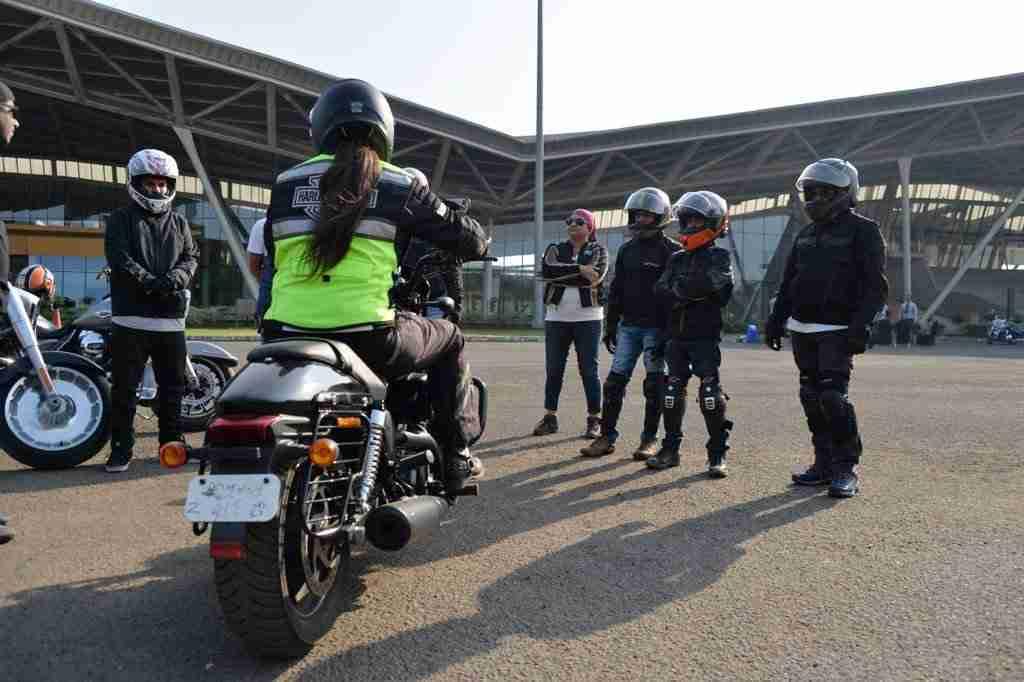 Harley Davidson conducts riding academy in Mumbai