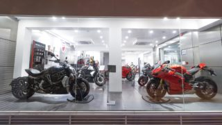 North Star Automotive Ducati New Delhi showroom
