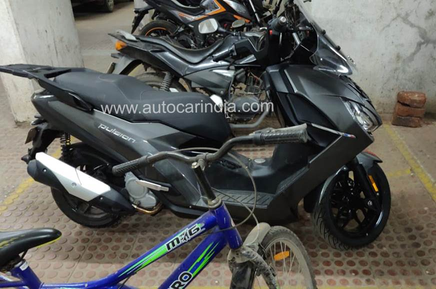 Peugeot Pulsion 125 spy shot