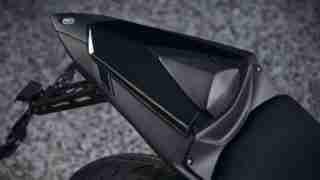 Yamaha MT-03 pillion seat cowl