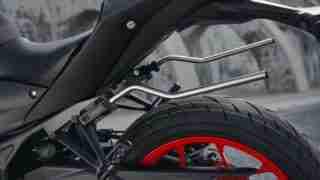 Yamaha MT-03 saddle stays