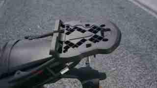 Yamaha MT-03 tail rack