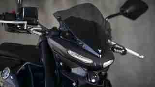 Yamaha MT-03 visor wind screen