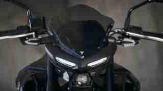 Yamaha MT-03 wind screen visor