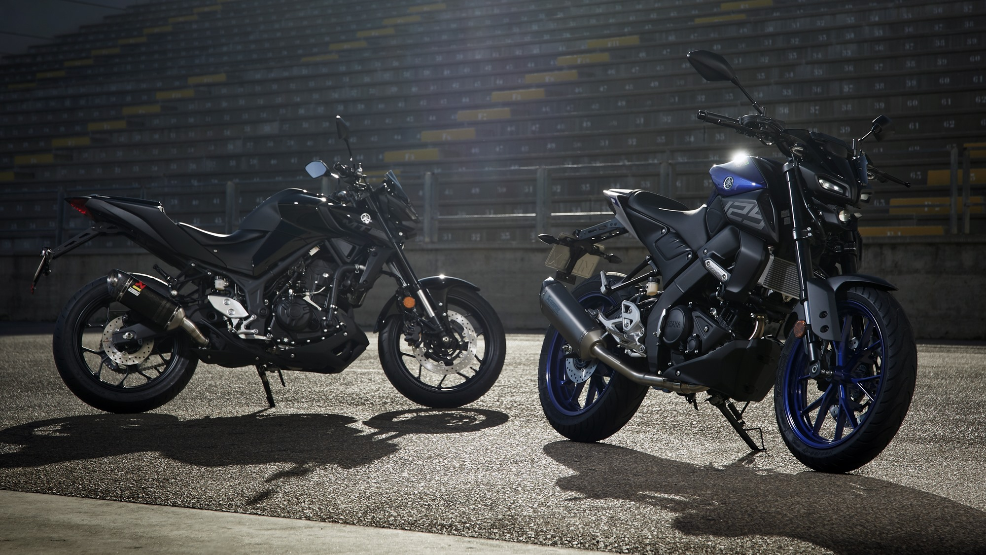 Yamaha MT-125 MT-15 MT-03 official with accessories
