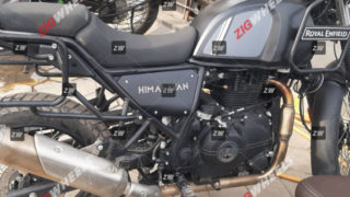2020 BS6 Royal Enfield Himalayan spy shot