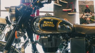 BS6 Royal Enfield Classic 350 Chrome tank