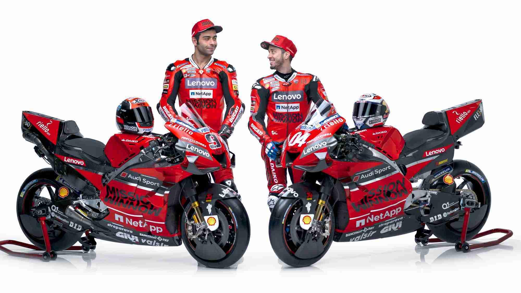 2020 Ducati MotoGP team and livery - Andrea Dovisiozo