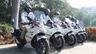 Suzuki Gixxer SF 250-Surat traffic police