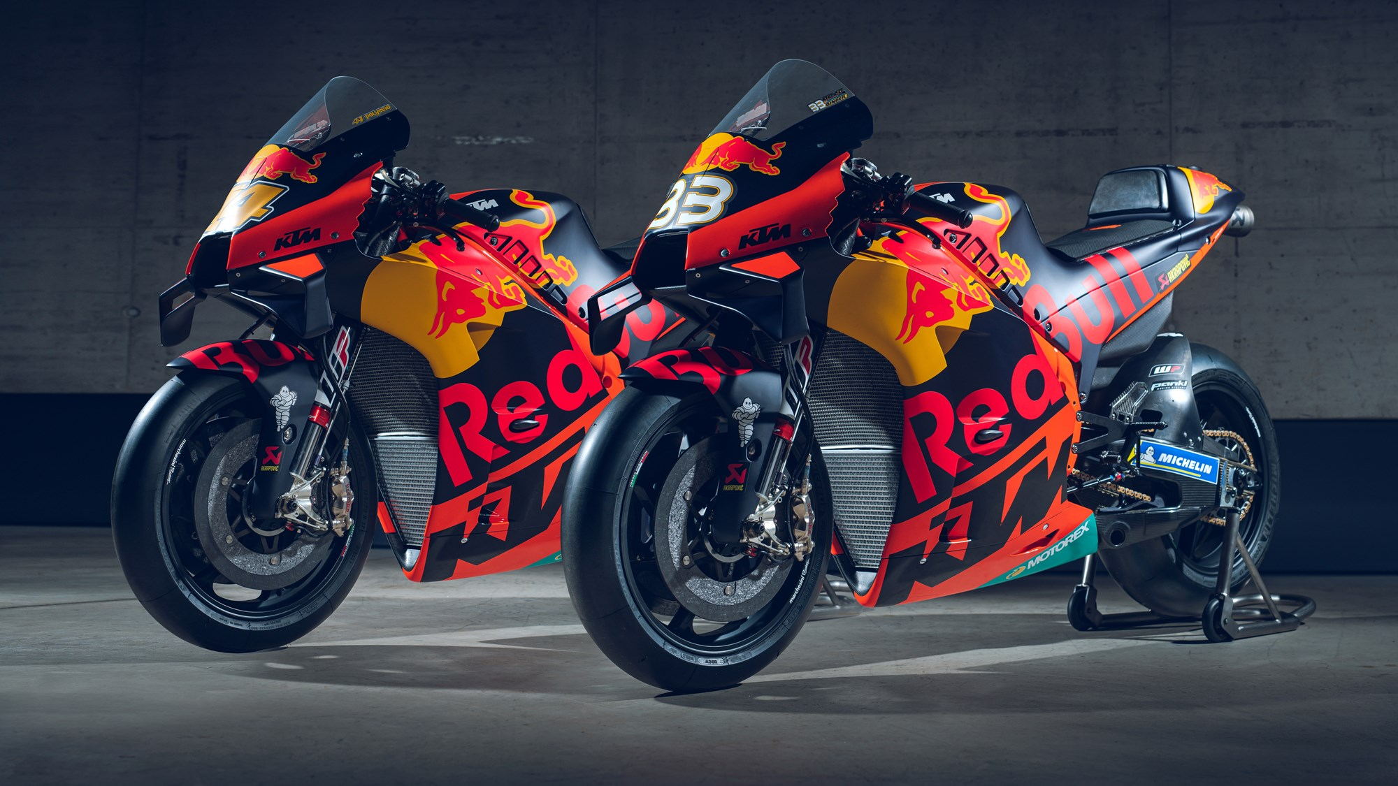 2020 KTM RC16 MotoGP bike specifications