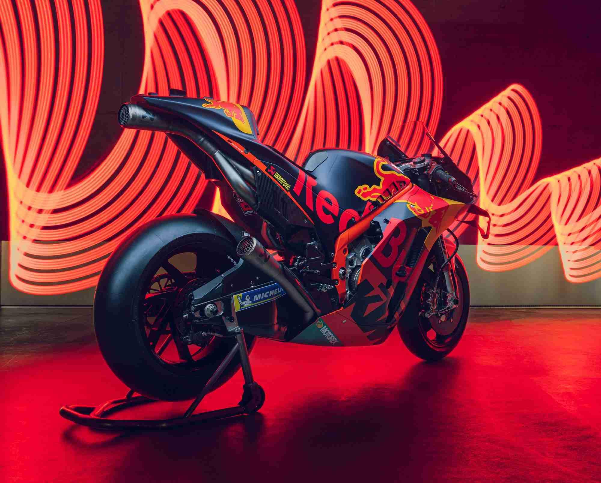 2020 KTM RC16 MotoGP bike specifications