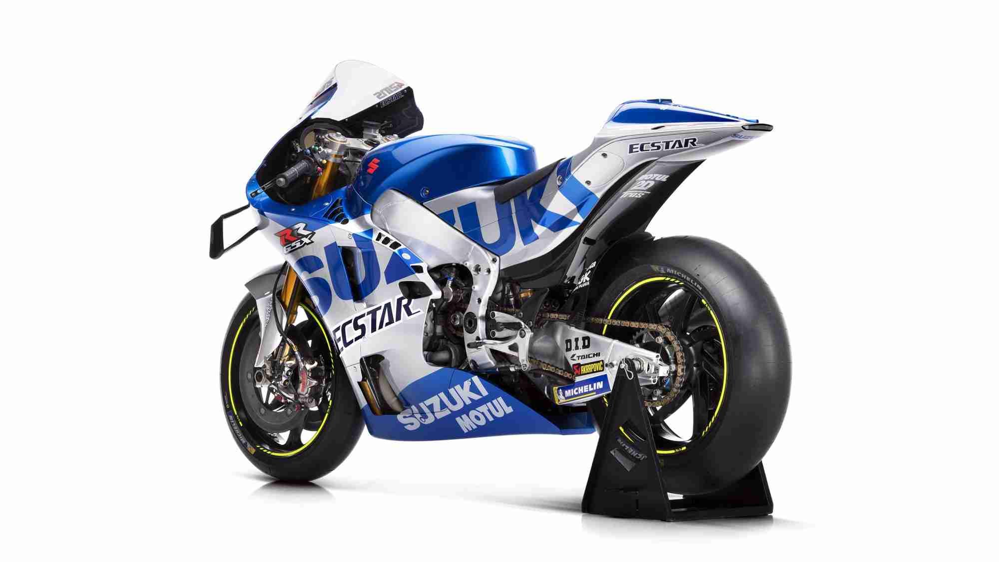 2020 Suzuki GSX RR Ecstar MotoGP livery