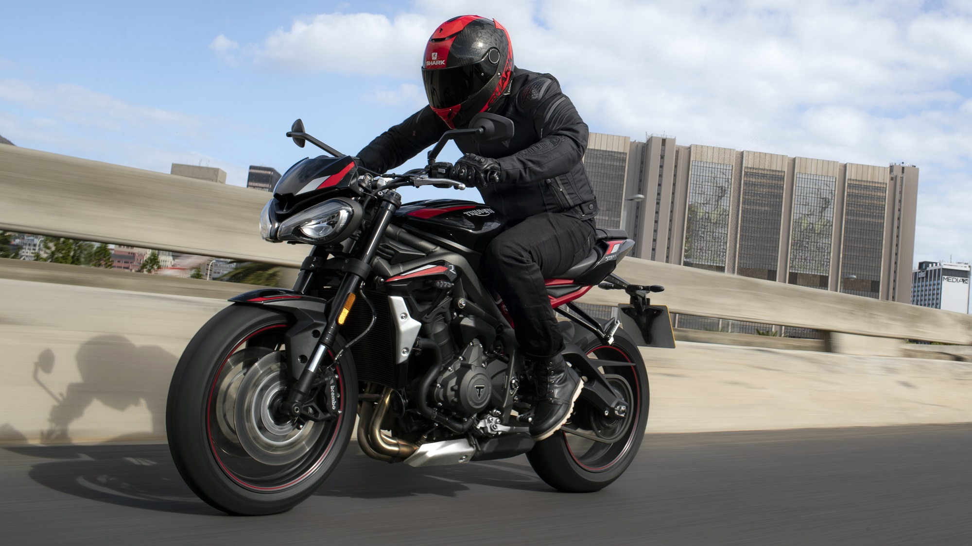 2020 Triumph Street Triple R exhaust silencer