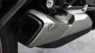 2020 Triumph Street Triple R exhaust silencer