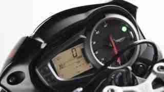 2020 Triumph Street Triple R instrument meter