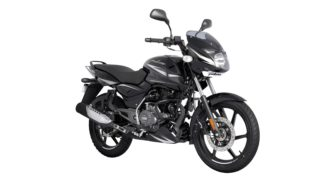 BS6 Pulsar 150 Black Chrome colour option