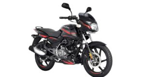 BS6 Pulsar 150 Black Red colour option