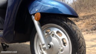 Honda Activa 6G telescopic fork and 12 inch tyre