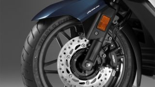 Honda Forza 300 India - front disc with ABS