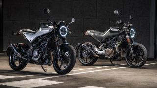Husqvarna Svartpilen 250 and Vitpilen 250 India