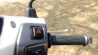 TVS iQube electric scooter switches mode