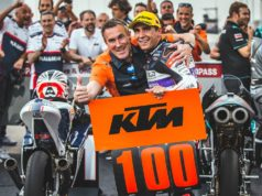 Albert Arenas takes KTM to 100 Grand Prix wins with Moto3 win