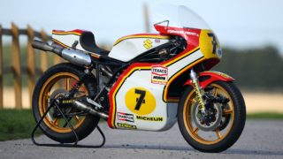 Barry Sheene's race bikes