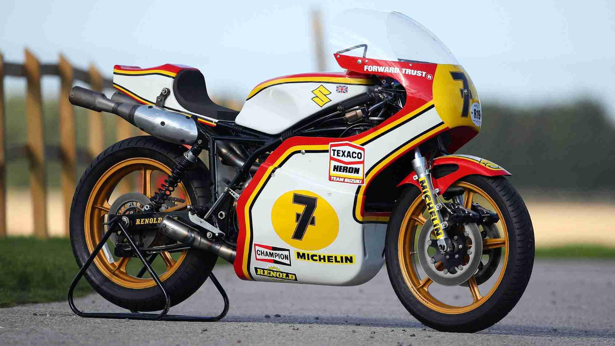 Barry Sheene's race bikes