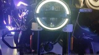 Husqvarna Svartpilen 250 headlight