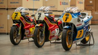 Suzuki UK to display Barry Sheene's race bikes