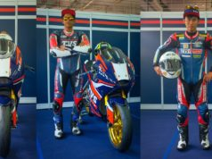 TVS Racing Asia Road Racing Championship 2020 riders team