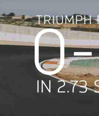 Triumph Rocket 3R 0-100 kmph