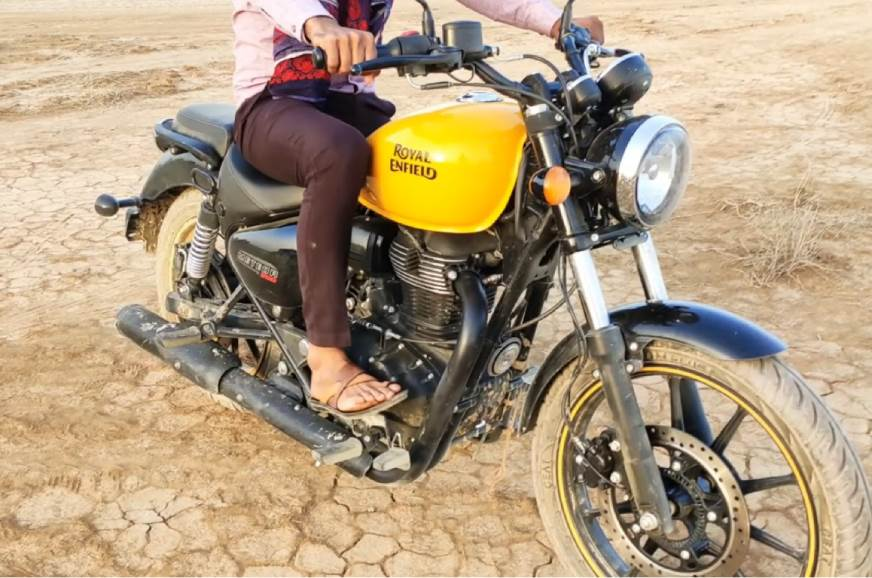 Royal Enfield Meteor Spy Image