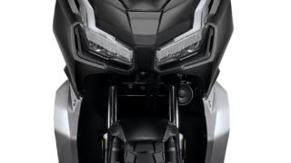 Honda ADV150 front view suspensions tyre